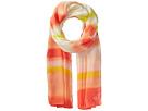Calvin Klein Ombre Dye Stripe Poly Chiffon