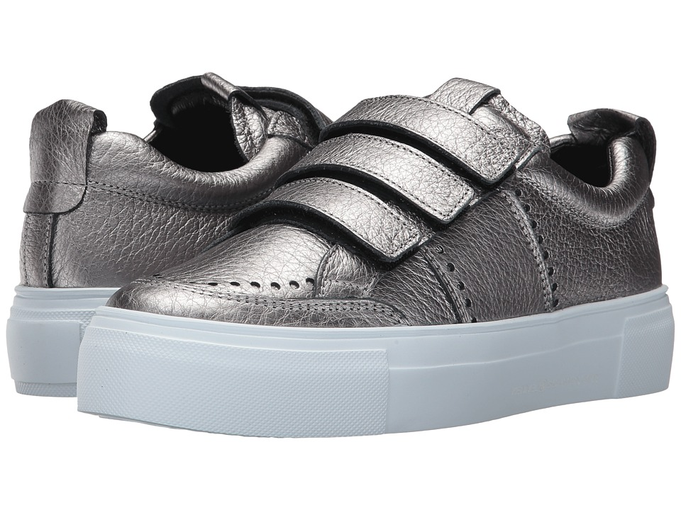 Kennel & Schmenger - Big Metallic Sneaker (Gunmetal Metallic) Women's Shoes