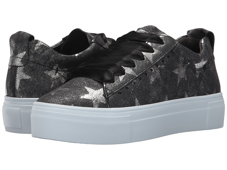 Kennel & Schmenger - Big Star Print Sneaker (Black Big Star) Women's Shoes