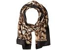 Calvin Klein Abstract Animal Silk Scarf