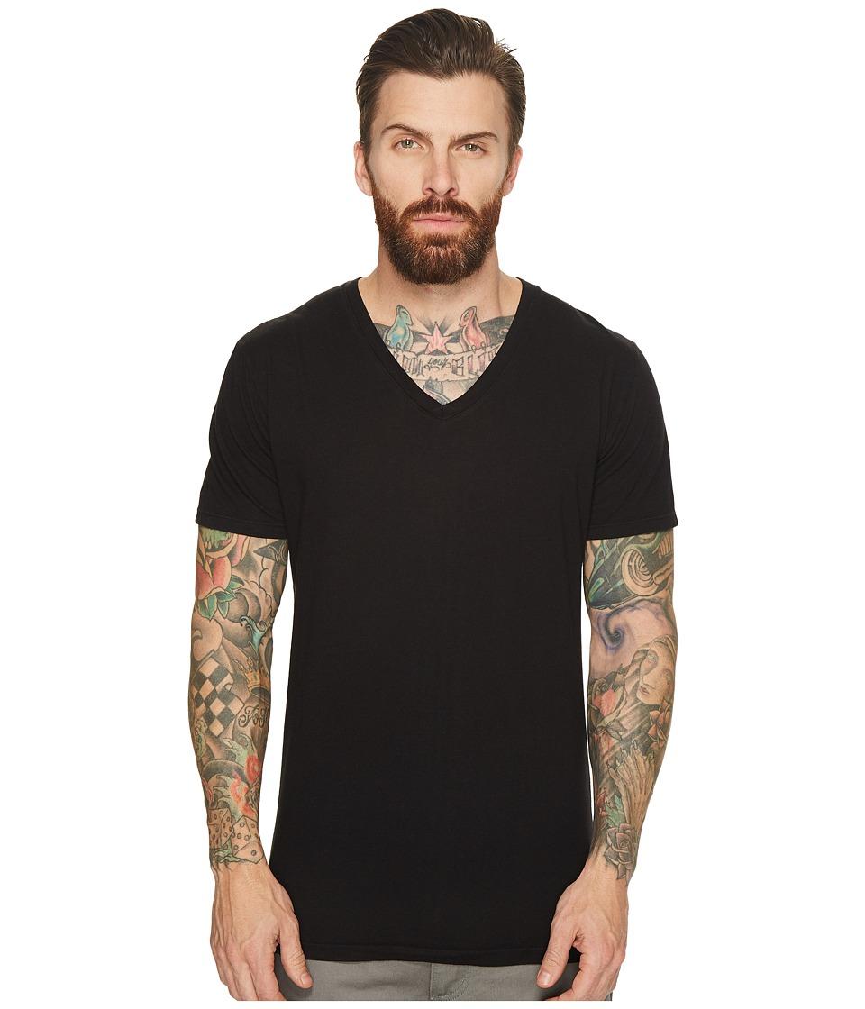 Richer Poorer V-Neck Tee (Black) Men's T Shirt