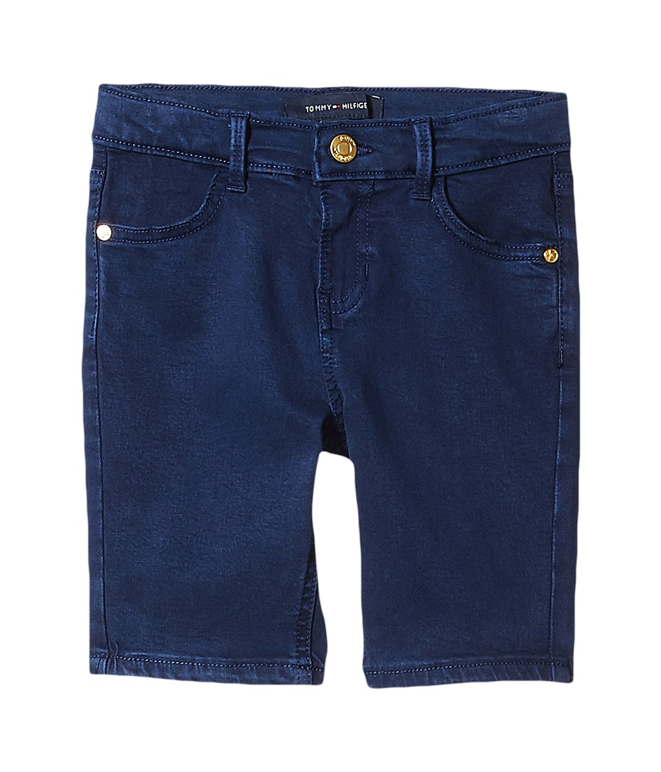 Tommy Hilfiger Kids - Twill Bermuda Shorts (Little Kids/Big Kids) (Flag Blue) Girl's Shorts