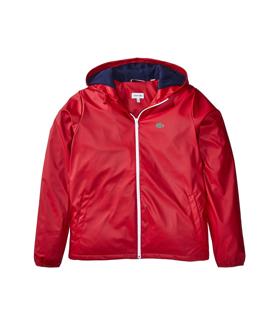 Lacoste Kids - Windbreaker with Fleece Lining (Little Kids/Big Kids) (Ladybird) Boy's Clothing