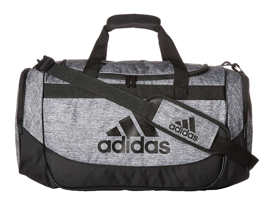 adidas - Medium Defense Duffel (Onix Jersey/Black) Duffel Bags