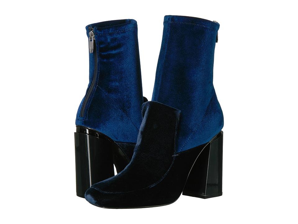 Sigerson Morrison - Joanna 2 (Blue Notte Velvet) Women's Shoes