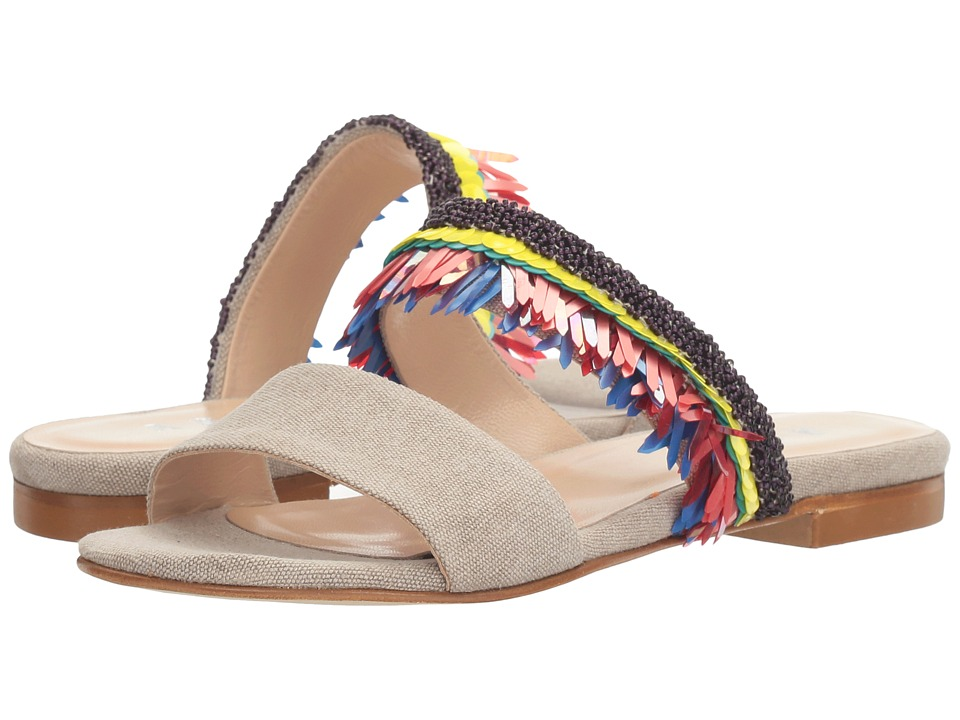 Image of ASKA - Emme w/ Beaded Detail (Taupe) Women's Shoes
