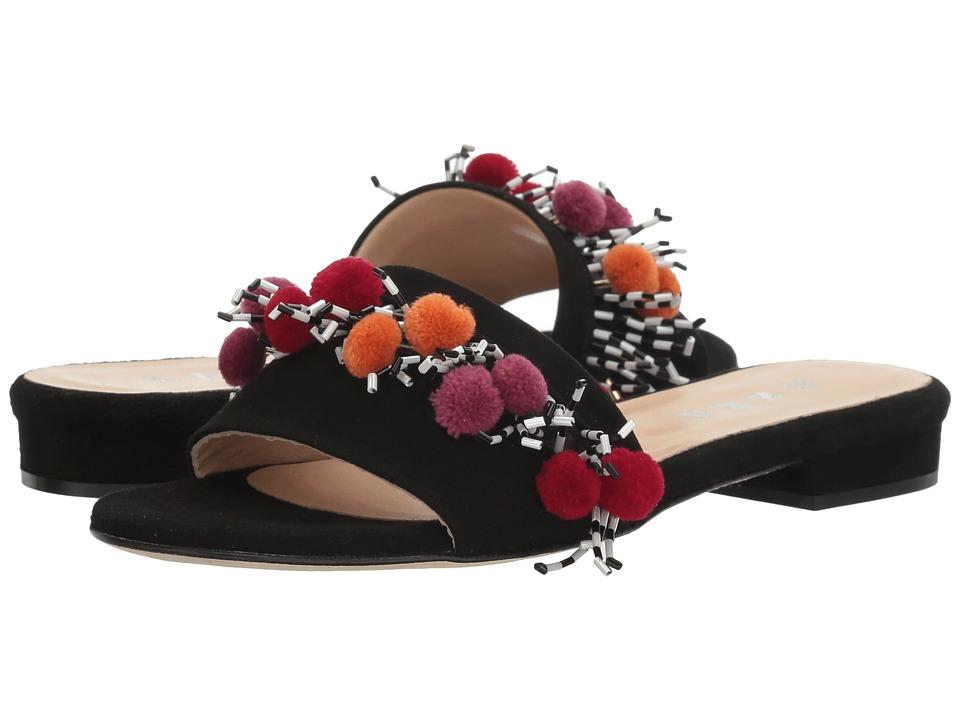 Image of ASKA - Babs (Black Suede) Women's Shoes