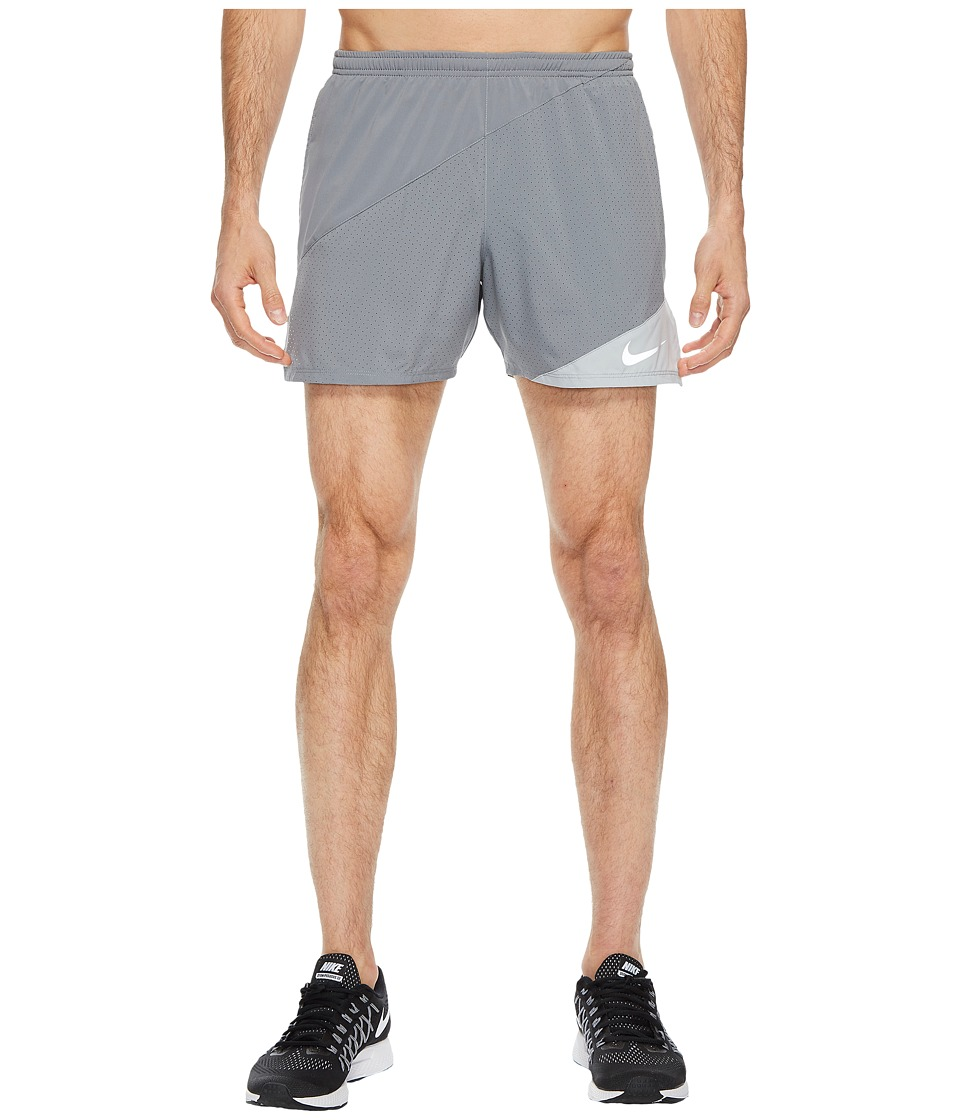 Nike Distance 5 Running Short (Cool Grey/Wolf Grey) Men