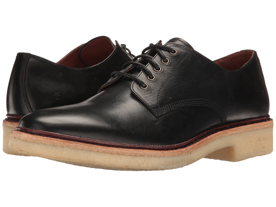 Frye - Luke Oxford (Black) Men's Shoes