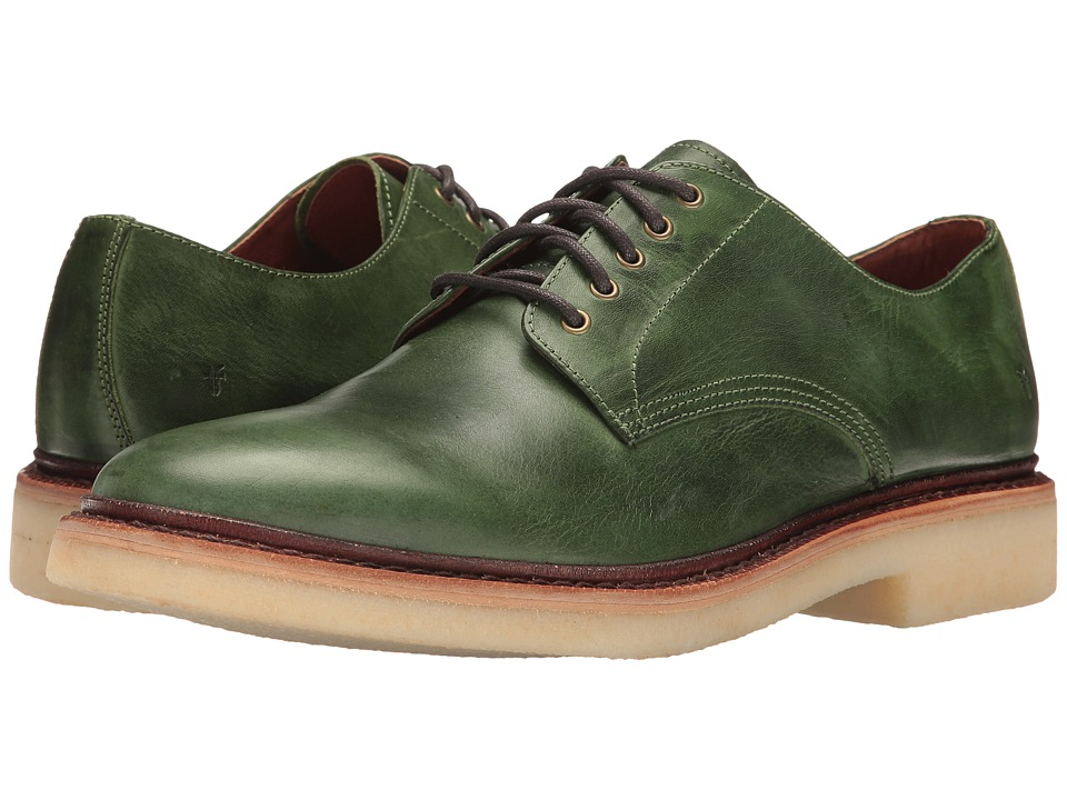 Frye - Luke Oxford (Green) Men's Shoes