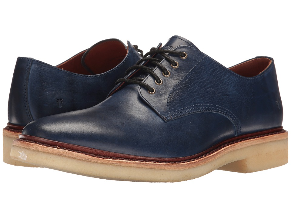 Frye - Luke Oxford (Royal Blue) Men's Shoes