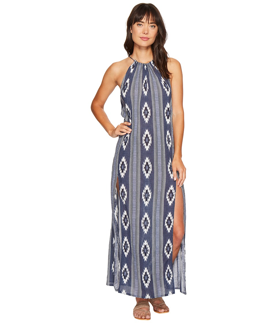 Rip Curl - Peace Tribe Maxi Dress (Navy) Women's Dress