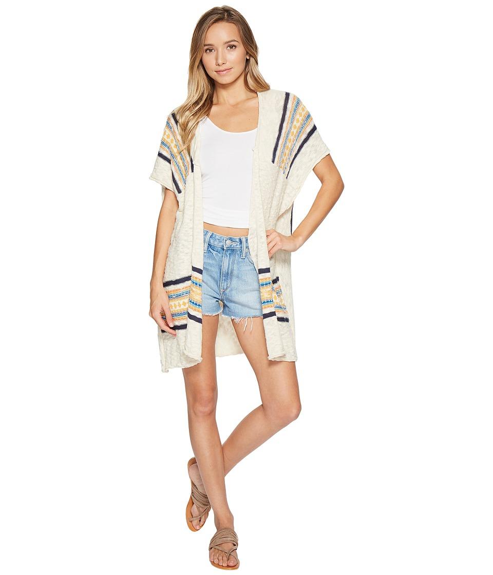 Rip Curl - Mirabel Cardigan (Natural) Women's Sweater