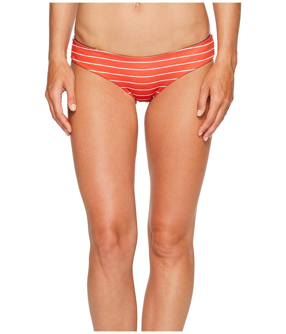 Rip Curl - Rising Star Hipster Bikini Bottom (Red) Women's Swimwear
