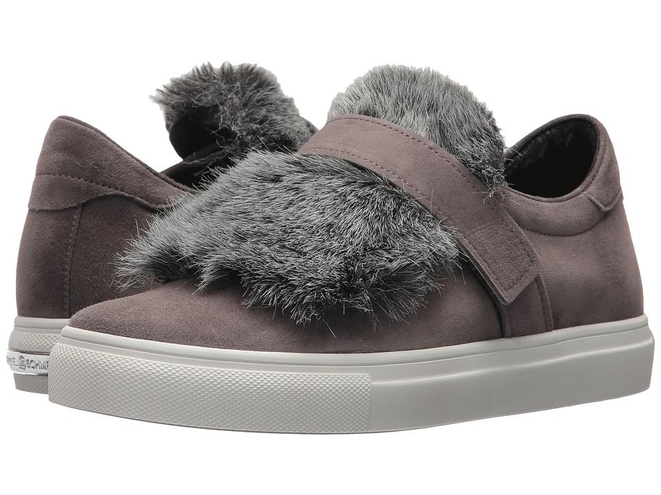 Kennel & Schmenger Basket Faux Fur Sneaker (Slate Samtziege/Faux Fur) Women