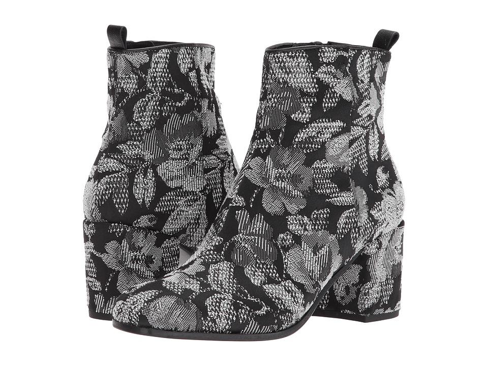 Kennel & Schmenger Kiko Embroidered Boot (Black Flower Stitch) Women