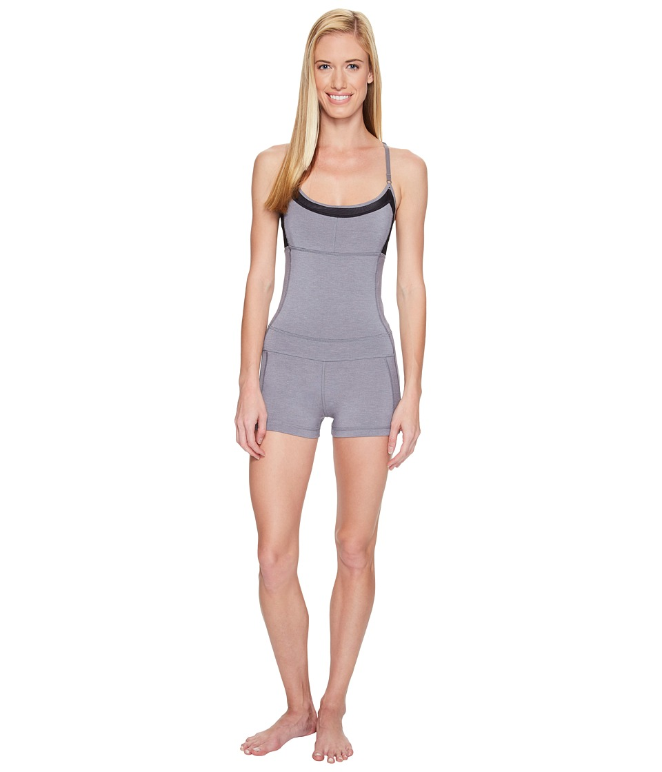 Lole - Chantha One-Piece (Carbon Heather) Women's Jumpsuit & Rompers One Piece