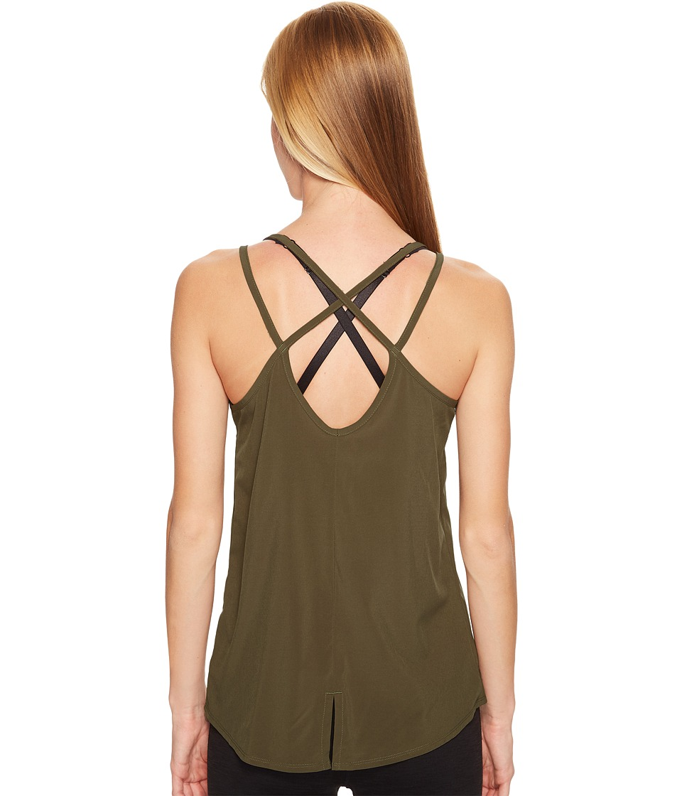 Lole - Calista Tank Top (Khaki) Women's Sleeveless