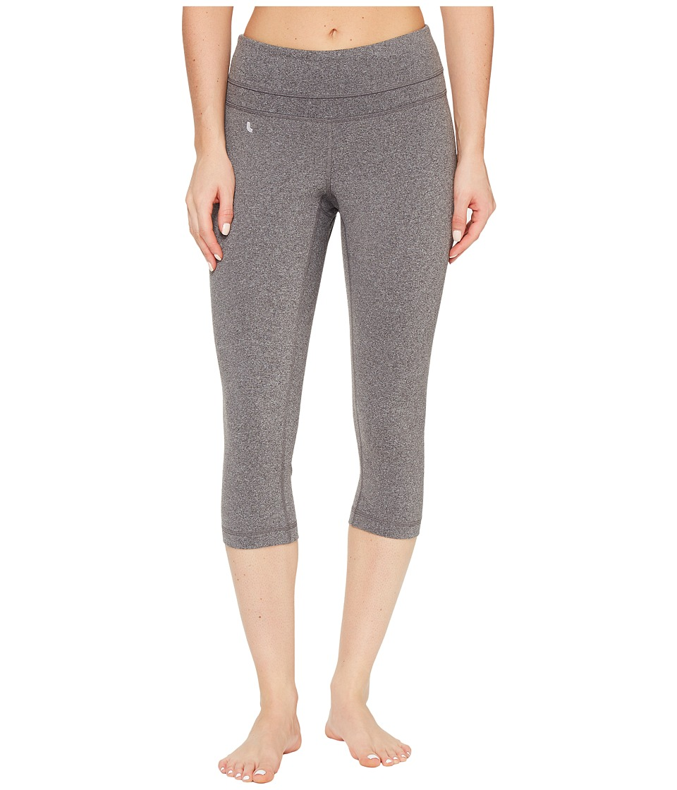 Lole - Salinah Capris (Black Heather) Women's Capri