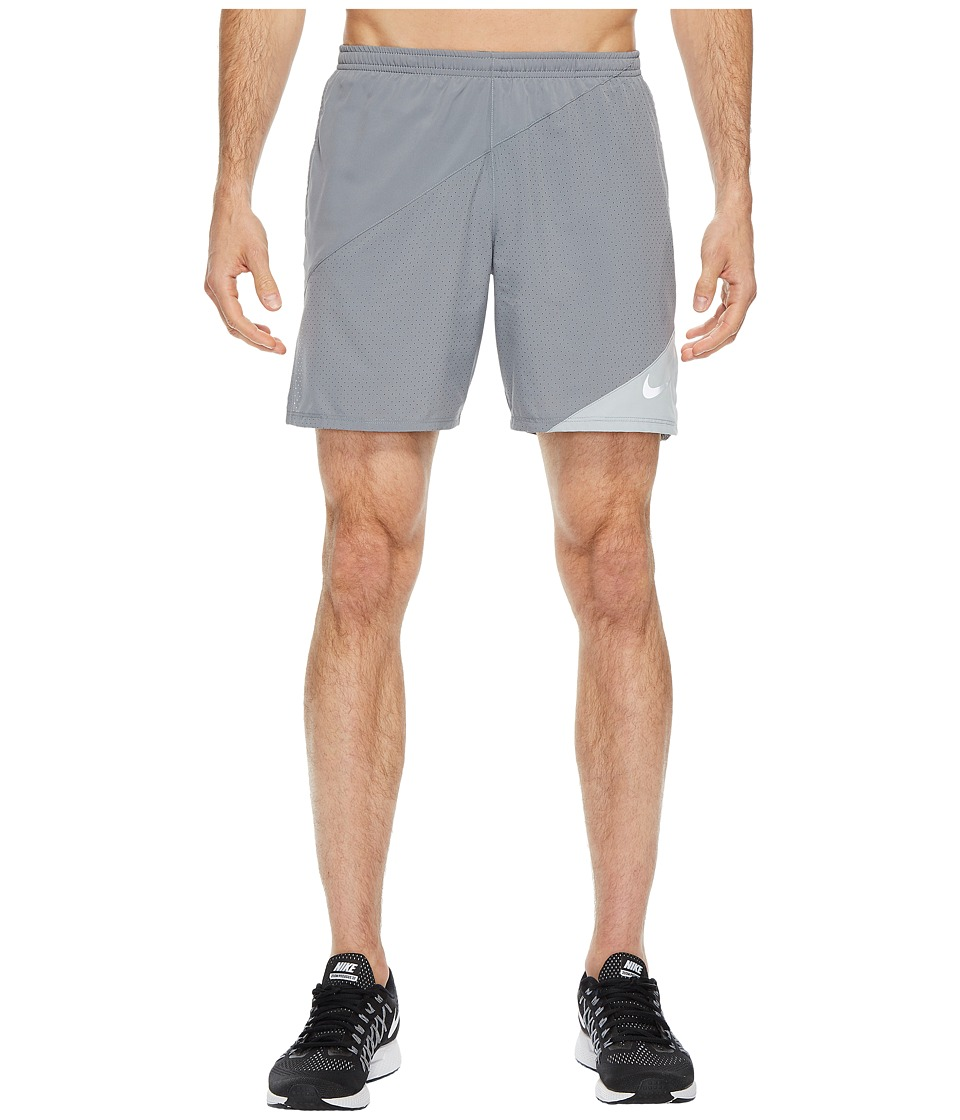 Nike Distance 7 Running Short (Cool Grey/Wolf Grey) Men