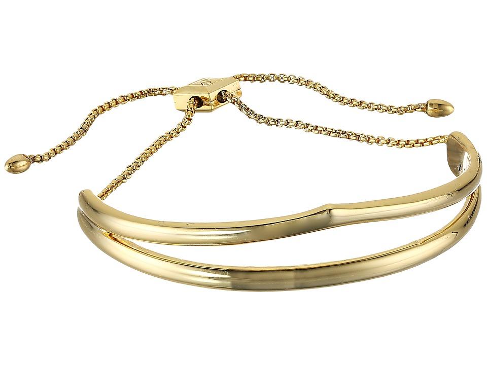 Vera Bradley - Triangle Slider Bracelet (Gold Tone) Bracelet