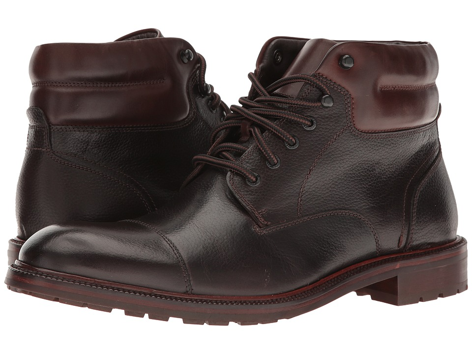 Johnston & Murphy - Fulton Cap Boot (Brown) Men's Boots