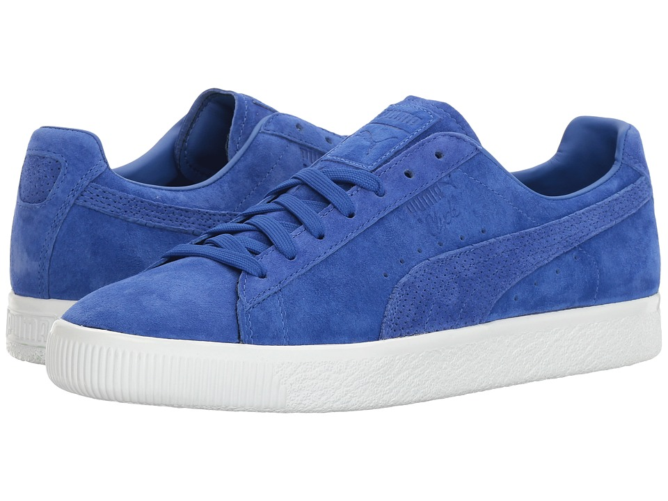PUMA - Clyde MJRL FM (Dazzling Blue/Dazzling Blue) Men's Shoes