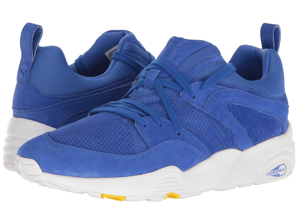 PUMA - Blaze of Glory MJRL FM (Puma Royal/Dandelion/Puma White) Men's Shoes