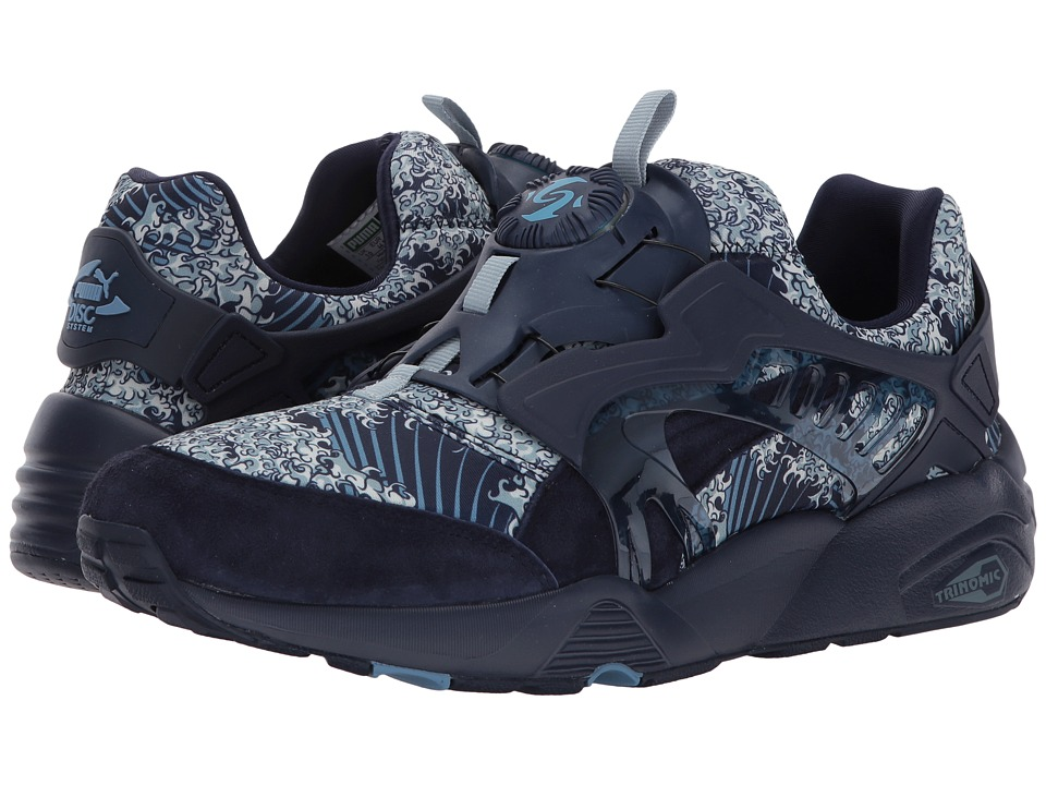 PUMA - Disc Blaze Marine FM (Peacoat) Men's Shoes