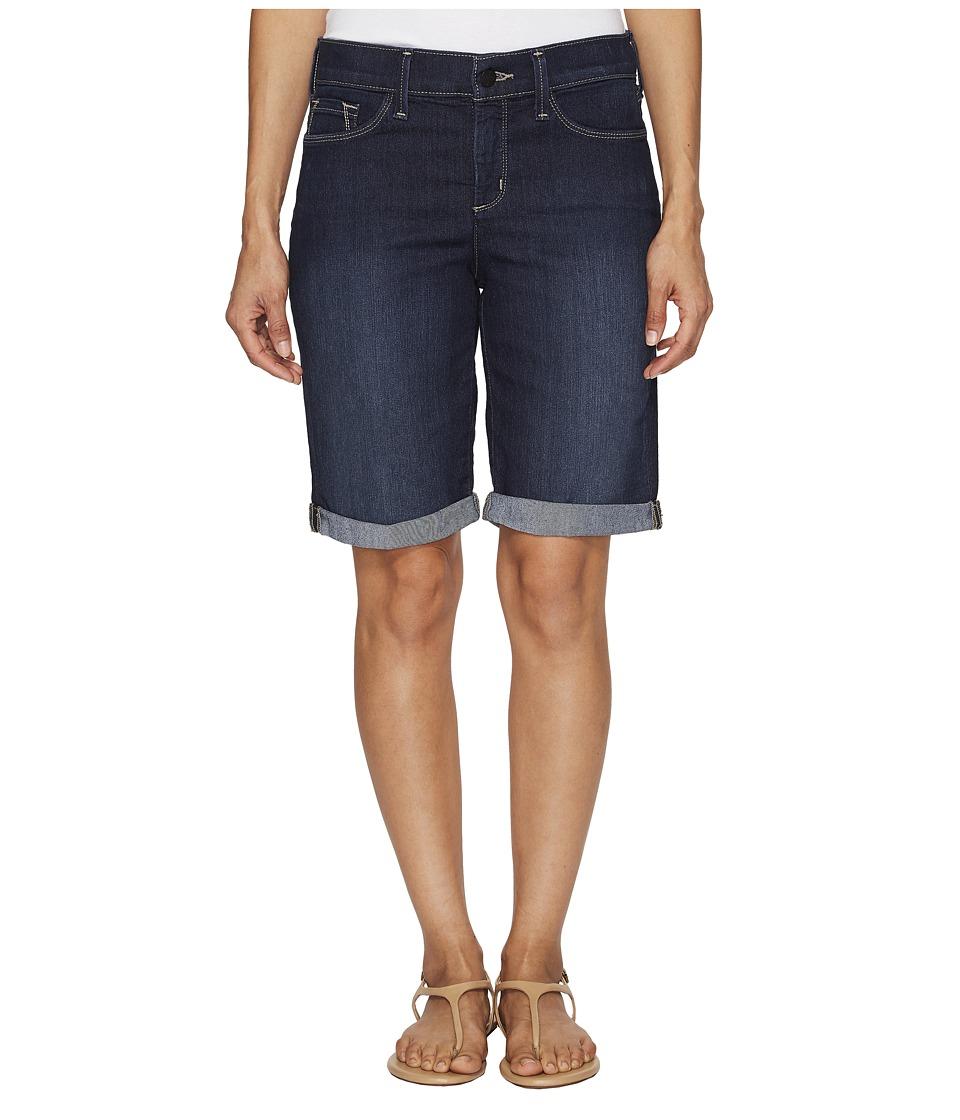 NYDJ Petite - Petite Briella Roll Cuff Shorts in Hollywood Wash (Hollywood Wash) Women's Shorts