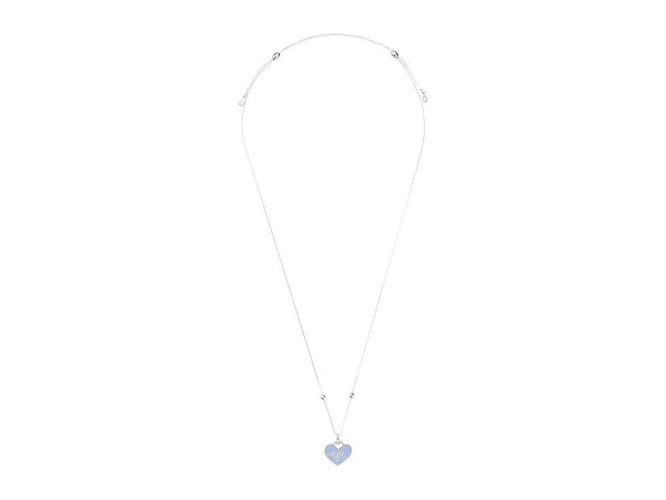 Alex and Ani - Color Infusion - Mom Expandable Necklace (Shiny Silver) Necklace