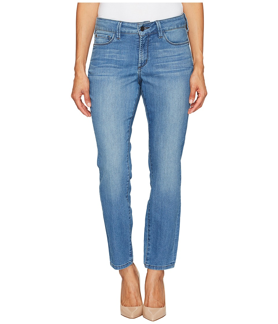 NYDJ Petite - Petite Alina Convertible Ankle in Jet Stream (Jet Stream) Women's Jeans