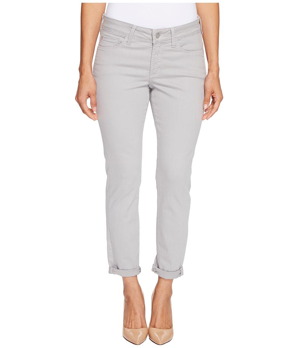 NYDJ Petite - Petite Alina Convertible Ankle in Moonstone Grey (Moonstone Grey) Women's Jeans