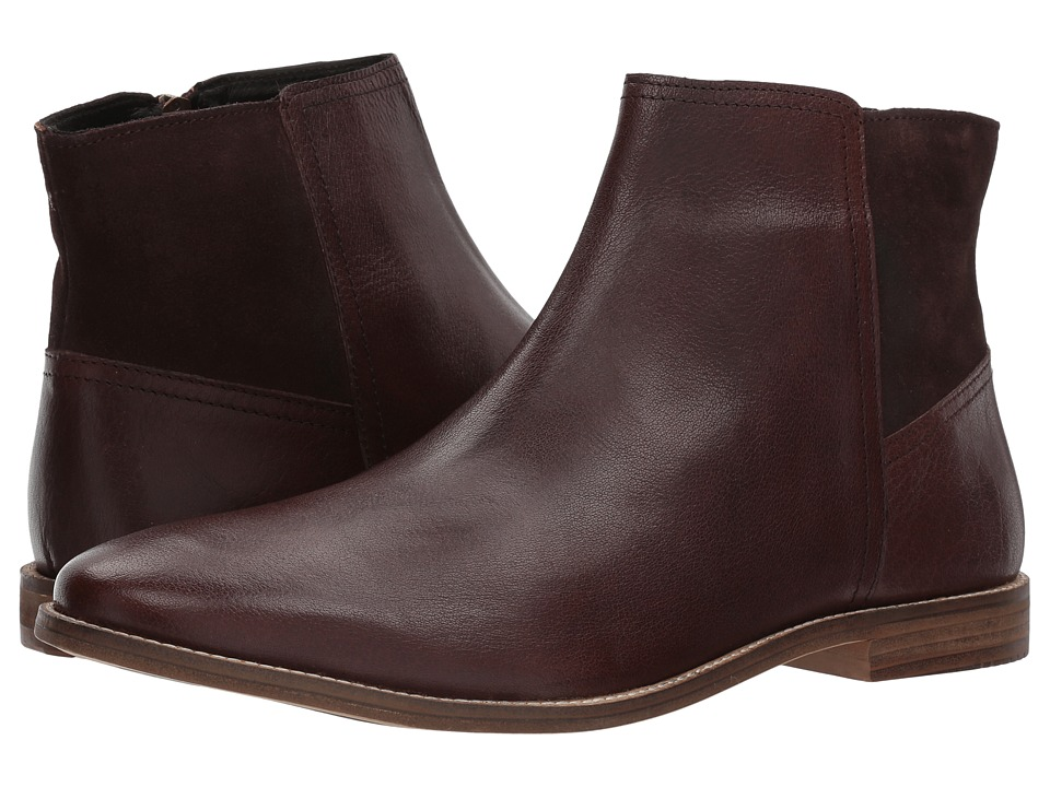Ben Sherman Gaston Zip Boot (Brown) Men
