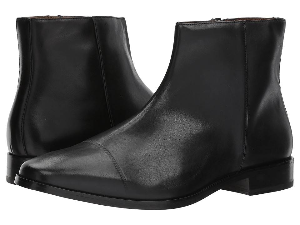 Ben Sherman Fredrick Zip Boot (Black) Men