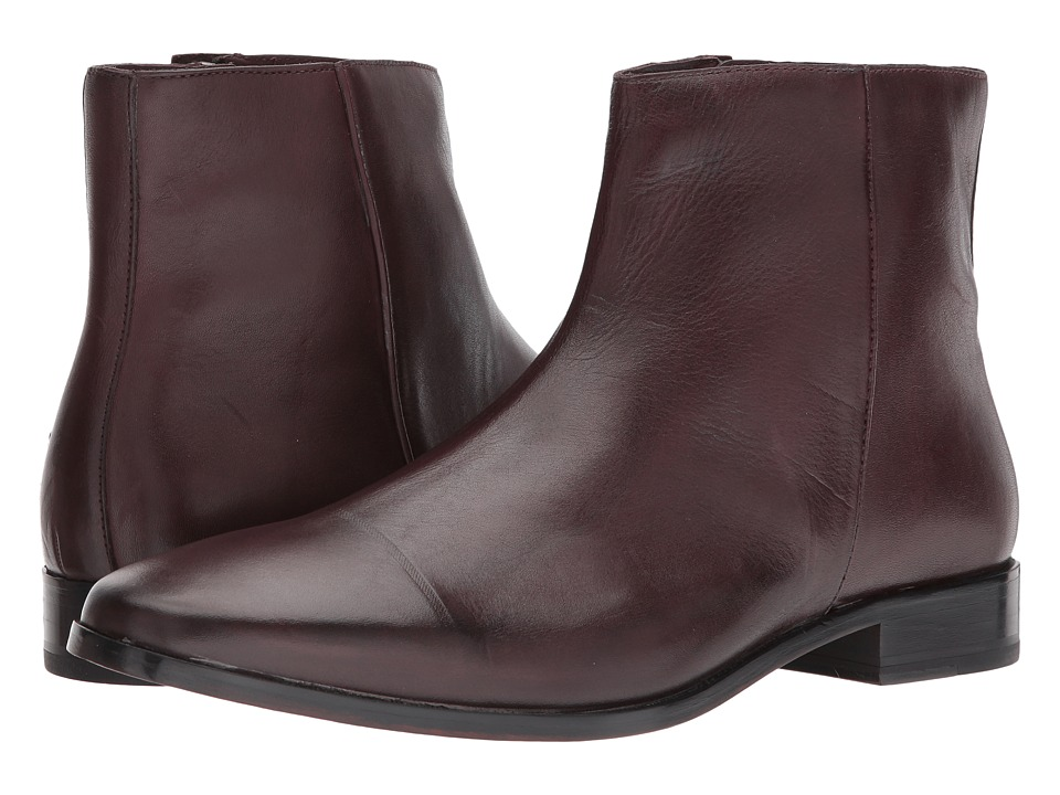 Ben Sherman Fredrick Zip Boot (Bordeaux) Men
