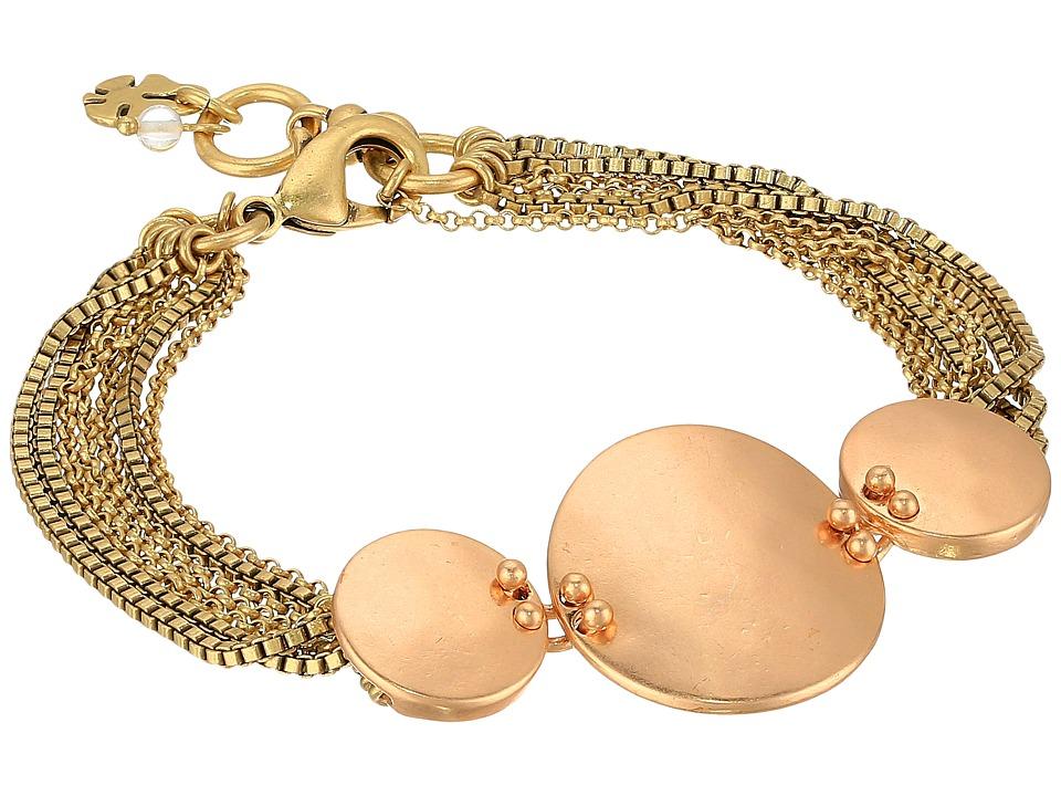 Lucky Brand - Rose Gold and Gold Bracelet (Two-Tone) Bracelet