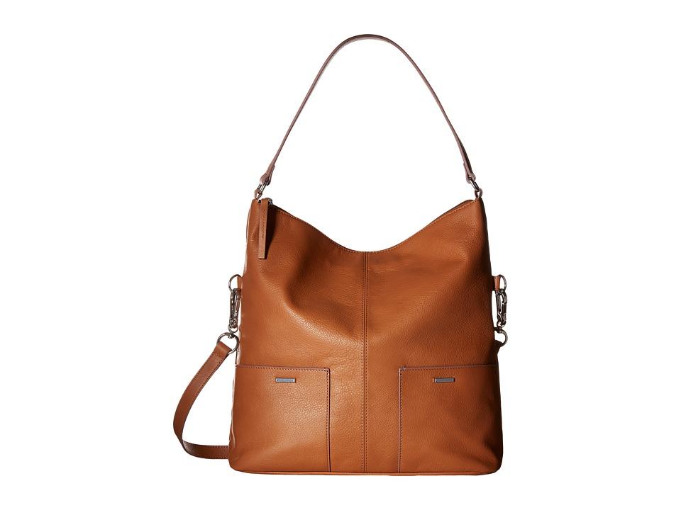 Lodis Accessories - Mill Valley Under Lock Key Tatiana Hobo (Toffee) Hobo Handbags
