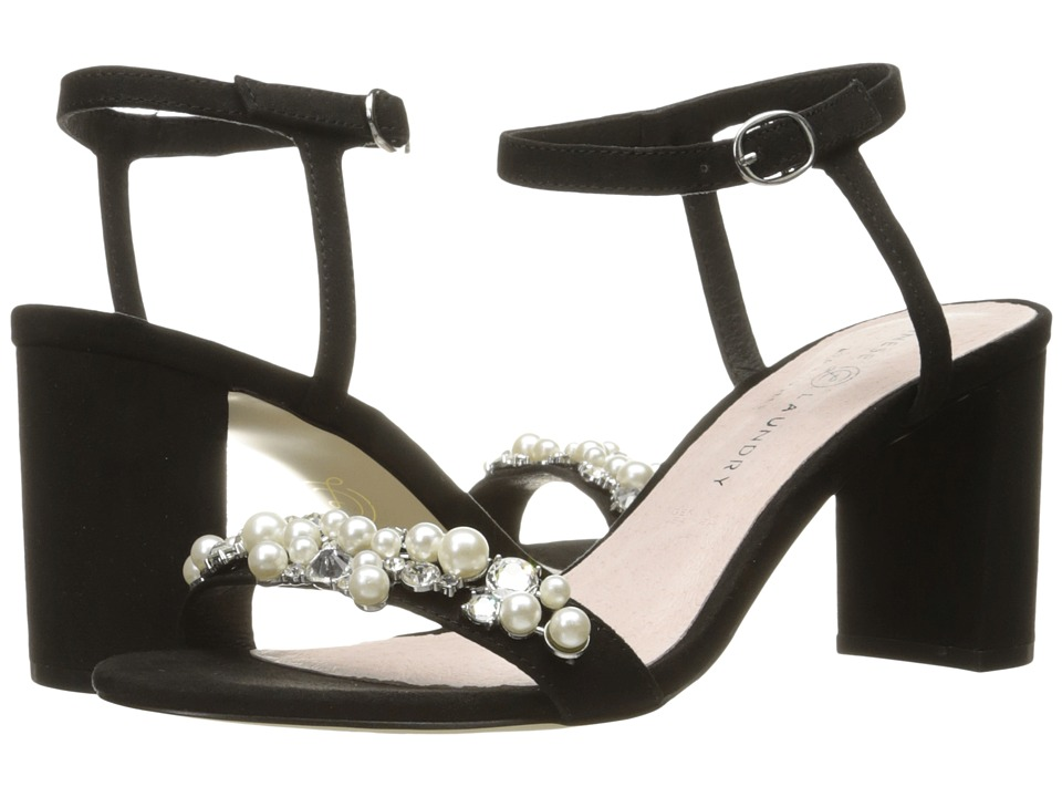 Chinese Laundry - Rosetta (Black Micro Suede) High Heels