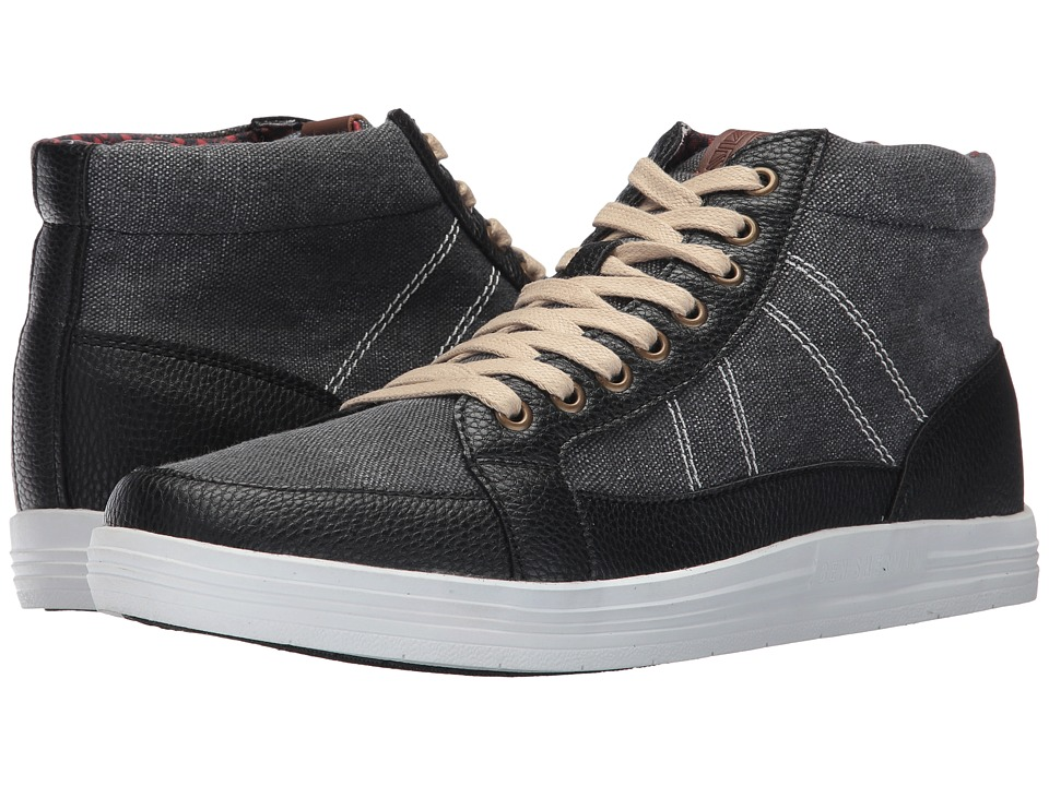 Ben Sherman Lox Mid Top (Black) Men