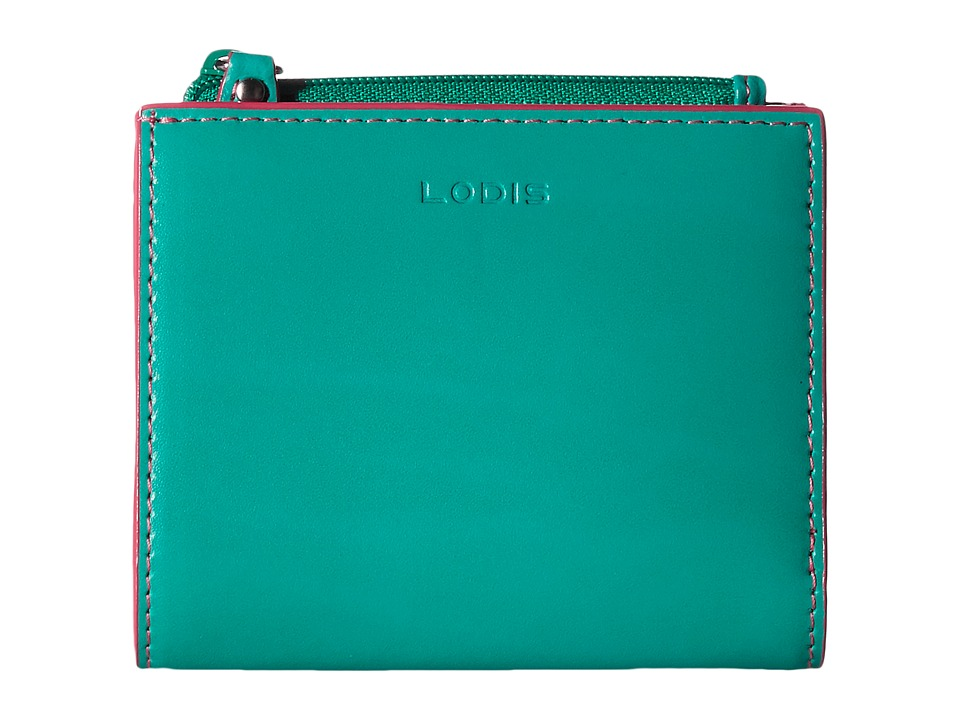 Lodis Accessories - Audrey Aldis Wallet (Green/Azalea) Wallet Handbags