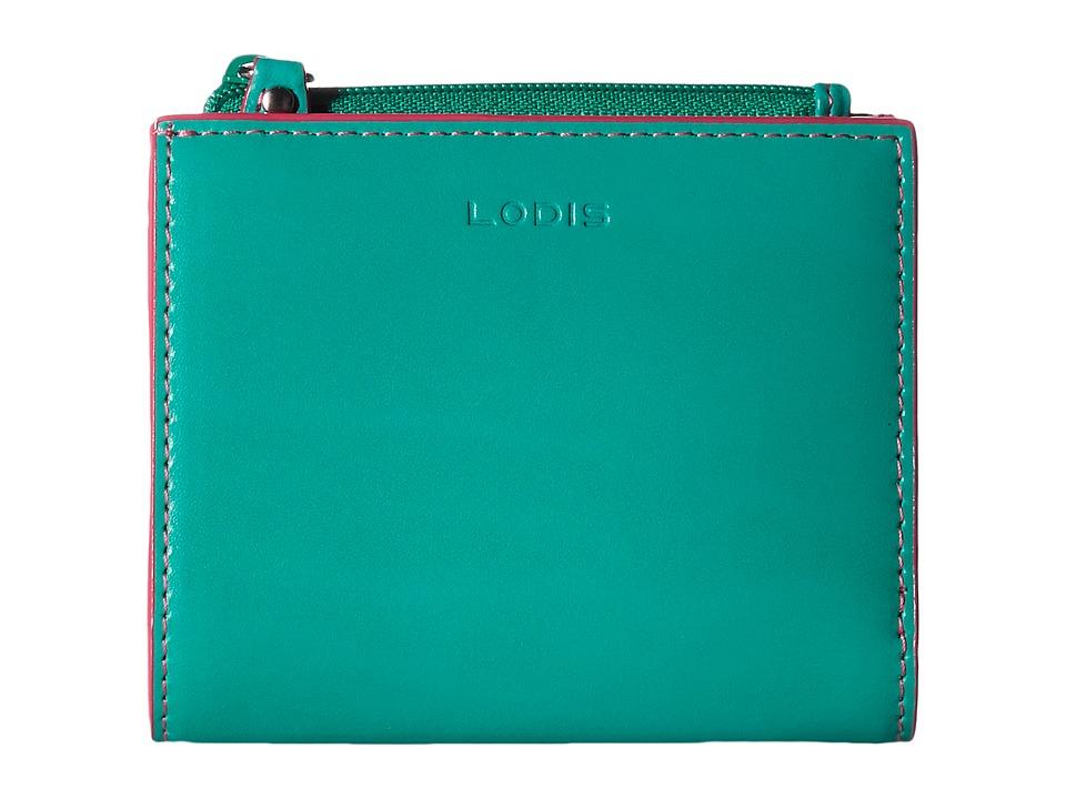 Lodis Accessories - Audrey Aldis Wallet (Green/Azalea) Wallet Handbags