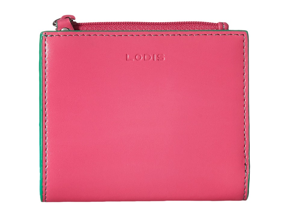 Lodis Accessories - Audrey Aldis Wallet (Azalea/Green) Wallet Handbags