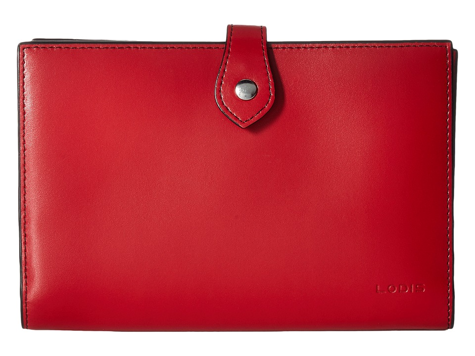 Lodis Accessories - Audrey Chrissy Convertible Wallet On A String (Red) Wallet Handbags