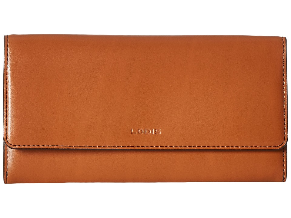 Lodis Accessories - Audrey Cami Clutch Wallet (Toffee) Wallet Handbags
