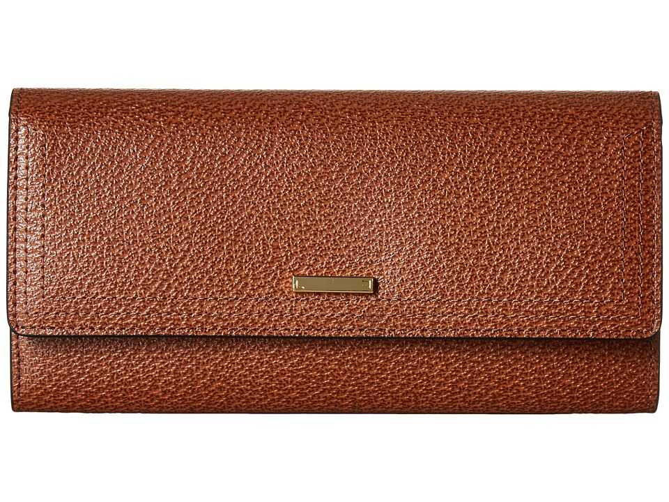 Lodis Accessories - Stephanie Under Lock Key Cami Clutch Wallet (Chestnut) Wallet Handbags
