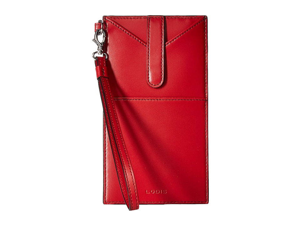 Lodis Accessories - Audrey Ingrid Phone Wallet (Red) Wallet Handbags