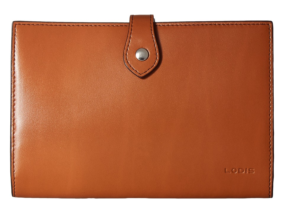 Lodis Accessories - Audrey Chrissy Convertible Wallet On A String (Toffee) Wallet Handbags