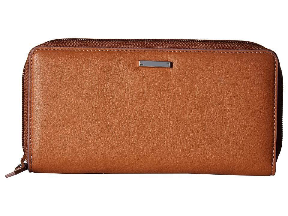 Lodis Accessories - Mill Valley Under Lock Key Ada Zip Wallet (Toffee) Wallet Handbags
