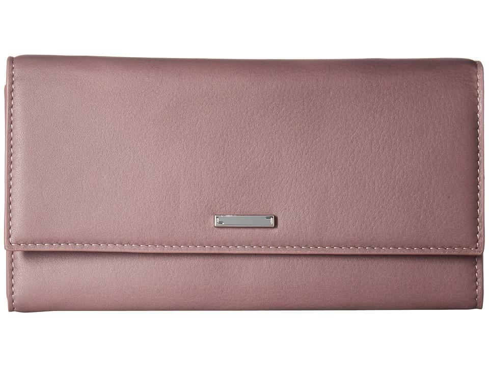 Lodis Accessories - Mill Valley Under Lock Key Cami Clutch Wallet (Lilac) Wallet Handbags
